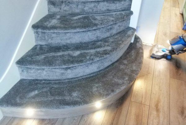 Why is LVT flooring a great choice for hallways?