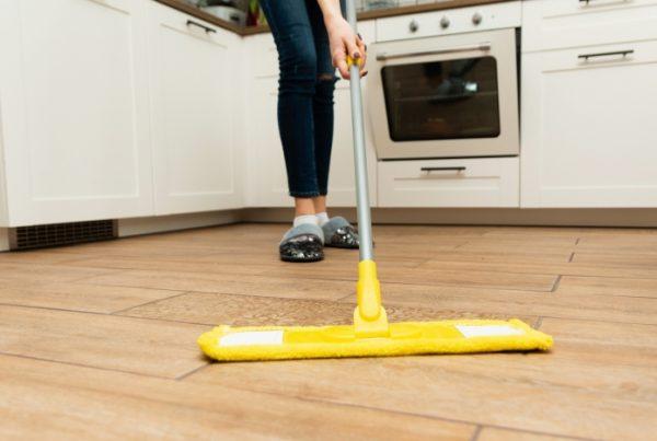 how to clean your LVT floor